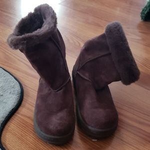 Kids Brown Boots